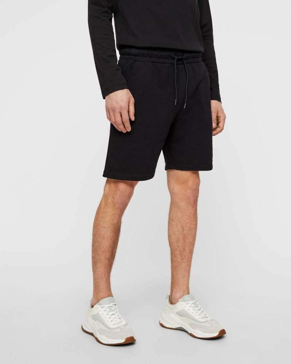 23040d016e Calvin Klein pánske čierne teplákové šortky Terry - Mode.sk