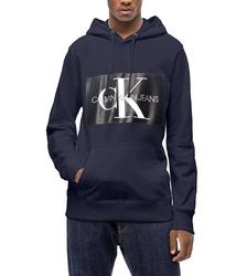 110c7550f6 Calvin Klein pánska tmavo modrá mikina s kapucňou