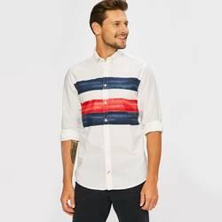 fc023f6b71da Tommy Hilfiger pánska biela košeľa Global